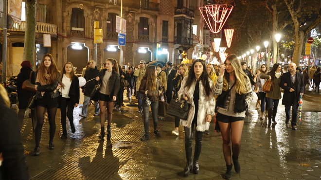 Shopping Night en Barcelona