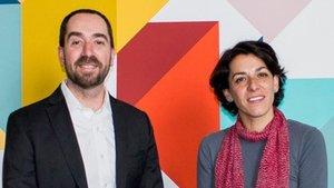Miquel Vila y Silvia Frutos, cofundadores de Splice Bio.