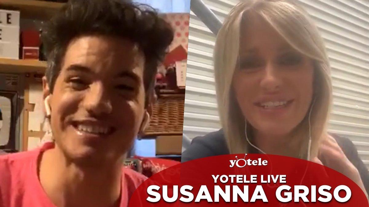 Susanna Griso con Ricky García en 'YOTELE Live'.