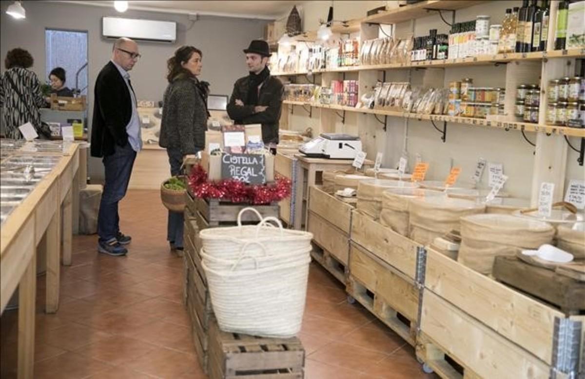 Môn Mas, nueva tienda especializada en productos ecológicos y a granel.