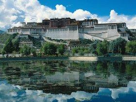 El Potala o templo de Lhasa es la máxima expresión de la arquitectura tibetana.