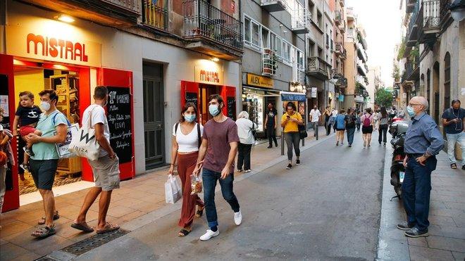 El risc de rebrot de coronavirus avança sense frens a Catalunya