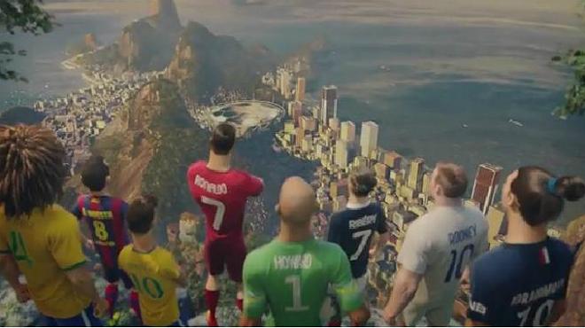 Vídeo The last game, on els jugadors animats han de demostrar que el futbol es viu amb passió i risc.