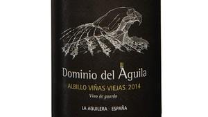 Dominio del Águila Albillo Viñas Viejas 2014, un 'borgoña' blanco en Ribera