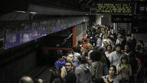 Afectacions del transport públic durant el 8-M