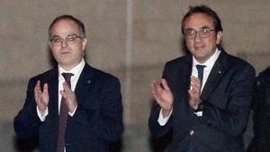 """Turull i Rull carreguen contra Vila per les seves """"falsedats"""""""