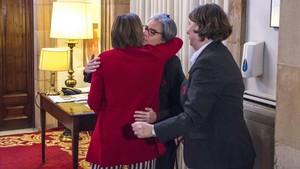 Forcadell renuncia a repetir com a presidenta del Parlament