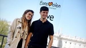 "Amaia: ""M'emporto a Eurovisió el llibre 'España de mierda'"""