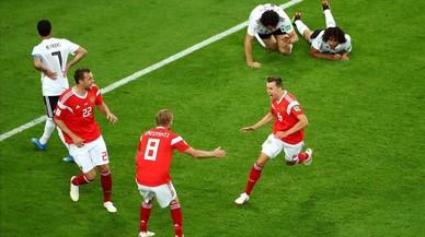 Rusia reina en el Mundial del VAR