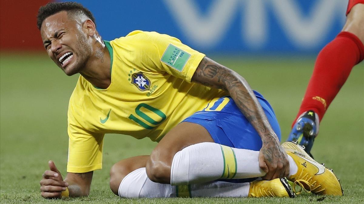 Neymar contra el meme de Neymar