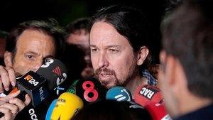 Iglesias: «És una vergonya, els de 'La manada' van ser condemnats a 9 anys i a Junqueras n'hi demanen 25»