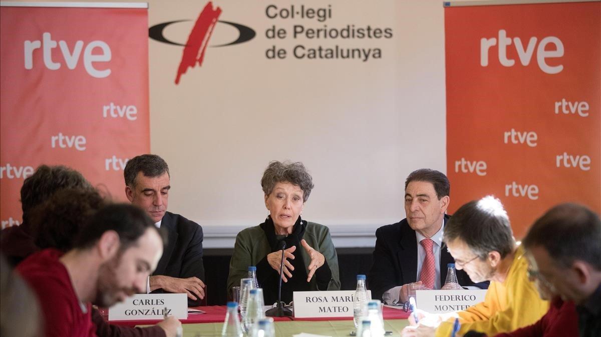 Rosa María Mateo anuncia més català a La 2