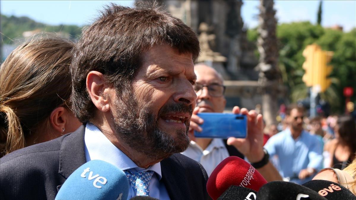 Batlle nega discrepàncies amb Colau per la seguretat de Barcelona