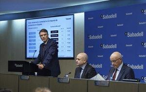 El Sabadell va incrementar els seus resultats un 134% el 2019