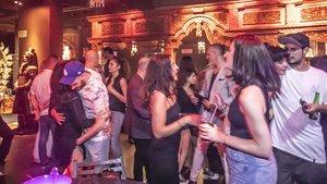 Ambiente en una discoteca de Barcelona el pasado 21 de junio.