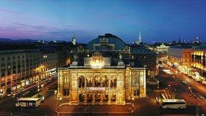 La Ópera de Viena.