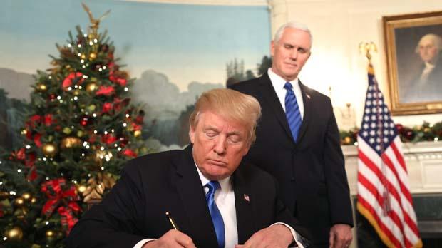 Estats Units reconeix Jerusalem com a capital dIsrael