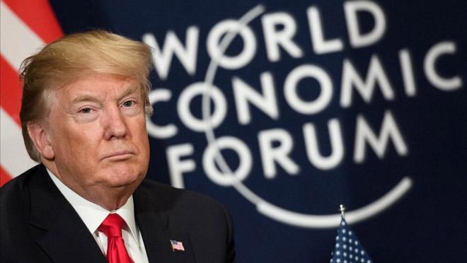 Trump en Davos: Siempre pondré a EEUU primero.