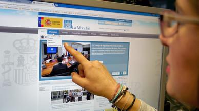La web de la Moncloa margina el catalán, el euskera y el gallego