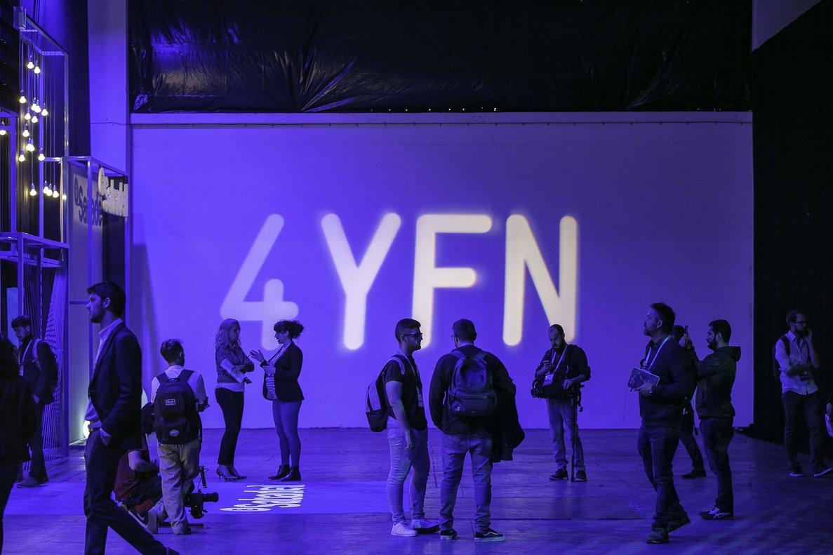 Asistentes al 4YFN, en el 2018.