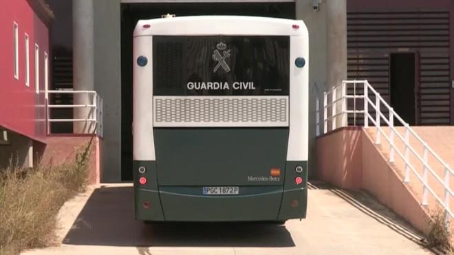 Els exconsellers presos Rull, Turull i Forn viatgen aquest dimarts cap a Catalunya