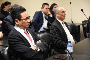Abogados peruanos involucrados en los manejos corruptos de la empresa Odebrecht.