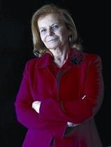 Académica 8La escritora Carme Riera, ayer, en Barcelona.