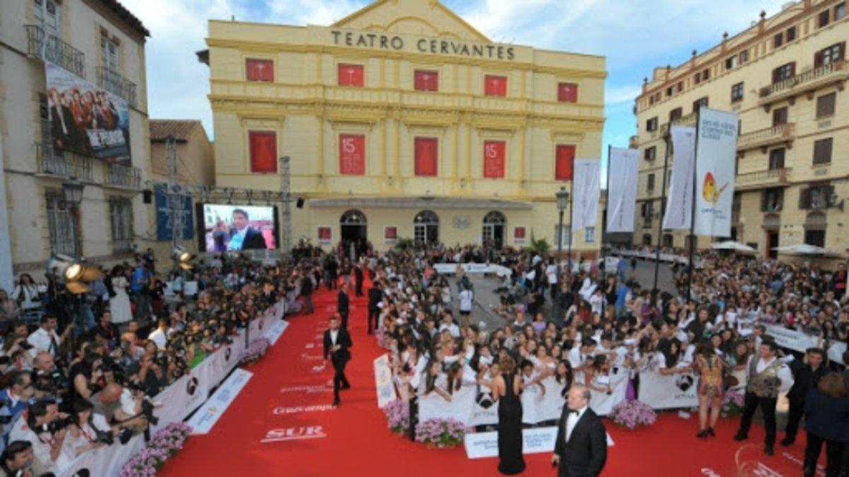 Ambiente en una edición anterior del festival de Málaga