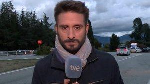 """El lapsus viral de un reportero en TVE: """"Franco descansará junto a su mujer, Carmen Calvo"""""""