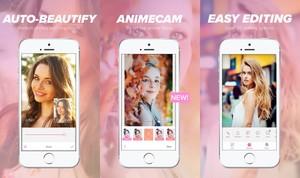 La aplicación Beautyplus.