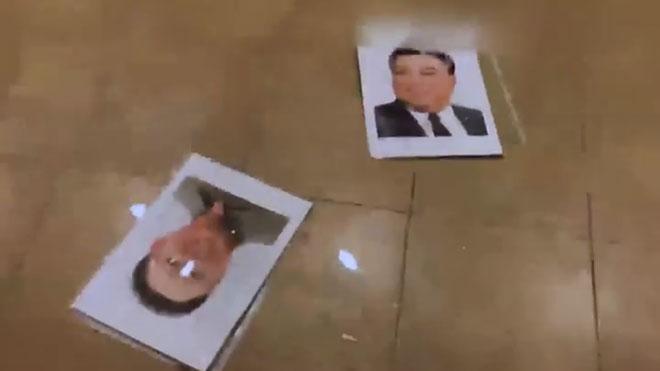 Asalto a la embajada de Corea del Norte.