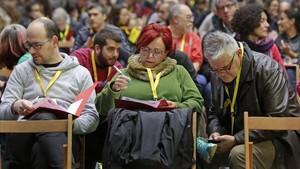 El consejo político de la CUP se reúne para decidir el sentido de su voto a Torra