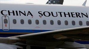 Un avión de China Southern Airlines.