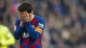El Barça ganó, pero Leo Messi sigue sin marcar