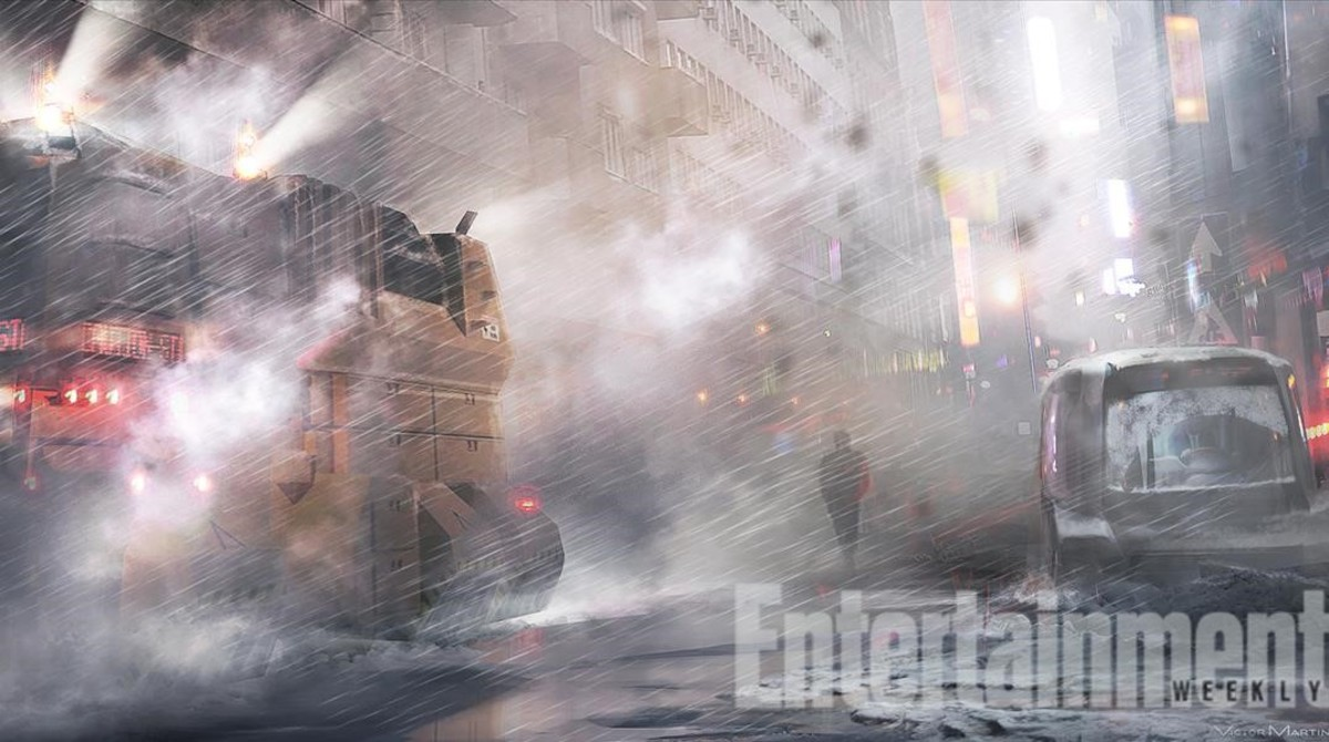Imagen conceptual de Blade runner 2.