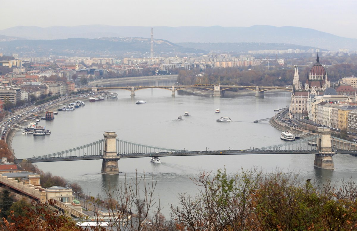 Vista de Budapest, la semana pasada.