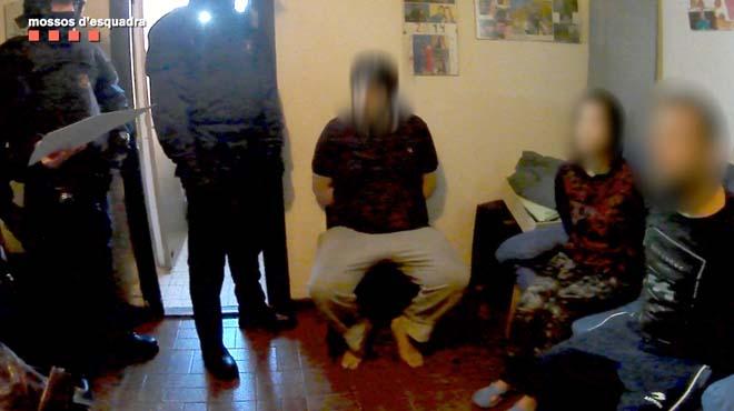 La operación policialpermitido recuperar más de 43.000 euros en efectivo.