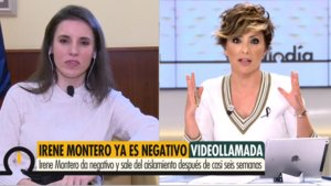 """Sonsoles Ónega pregunta a Irene Montero por la salida con sus hijos: """"¿Irán a pasear o con el jardín les vale?"""""""