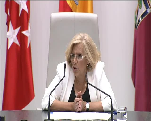 Carmena, nueva alcaldesa de Madrid.