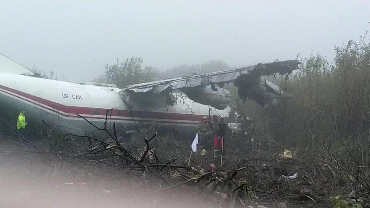 Cinco muertos tras aterrizaje forzoso en Ucrania de avión procedente de Vigo.