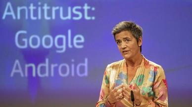 Multa récord a Google: 4.340 millones de euros