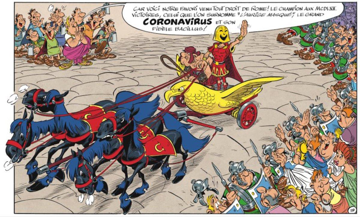 Astèrix, i no els Simpson, ja va predir el coronavirus el 2017