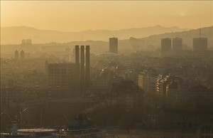 Avís preventiu per contaminació a l'àrea de Barcelona