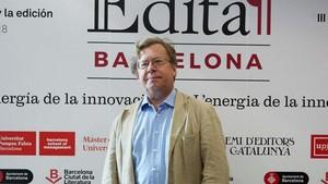 El editor mexicano Ricardo Cayuela, en el Forum Edita