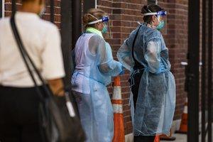 Estados Unidos es el país más golpeado por la pandemia.
