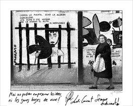 Entre rejas. «Nunca podrán encarcelar las ideas»: Jordi Cuixart, uno de los líderes independentistas en prisión, pone texto a esta imagen de Joan Guerrero.