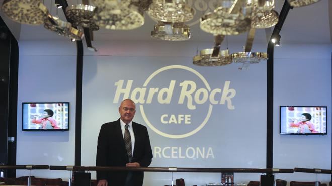 Entrevista a Hamish Dodds, president del Hard Rock Café.