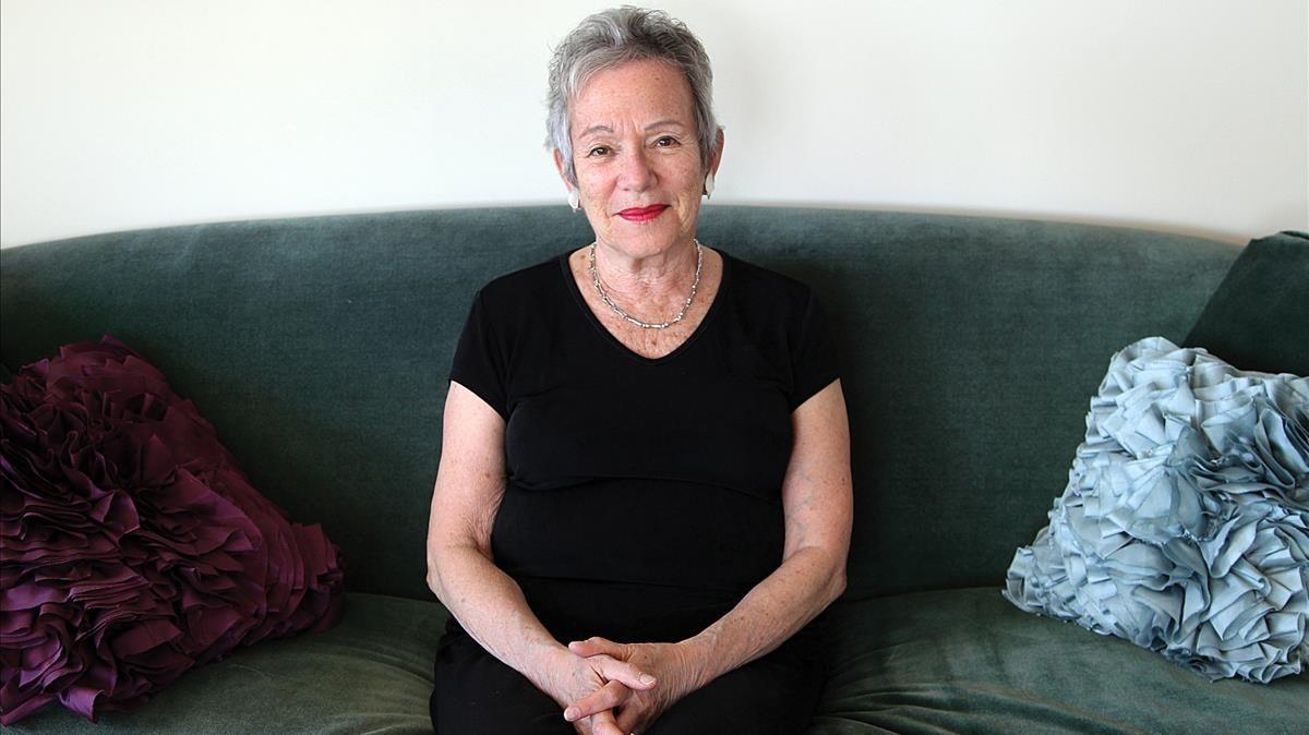 La escritora norteamericana Edith Pearlman.
