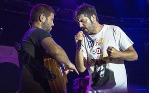 Estopa, los hermanos Muñoz, en el festival de Porta Ferrada del 2016.