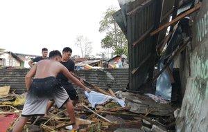 La mayoría de los muertos se produjeron en la isla de Panay, en la región de Visayas Occidental.